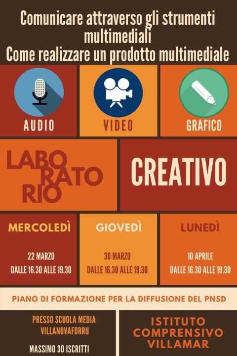 Comunicare attraverso gli strumenti multimediali. Come realizzare un prodotto multimediale, audio, video e grafico, utile per la didattica